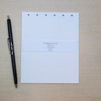 サイン帳 S-107 S-125用の替紙セット【メール便OK】