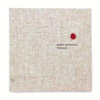 小さな刺繍のフォトアルバム テントウ虫 AS-41A