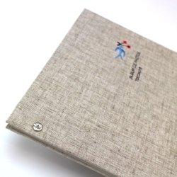 画像3: 小さな刺繍のフォトアルバム ツバメ AS-41F