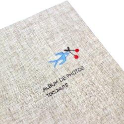 画像2: 小さな刺繍のフォトアルバム ツバメ AS-41F