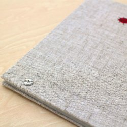 画像3: 小さな刺繍のフォトアルバム テントウ虫 AS-41A